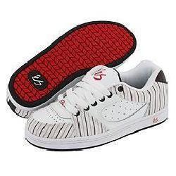 eS Accel Mens White/Black/Red Shoes