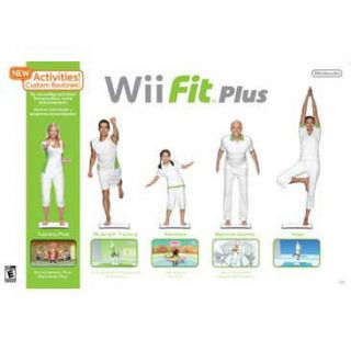 Wii   Wii Fit Plus with Balance Board   By Nintendo of America