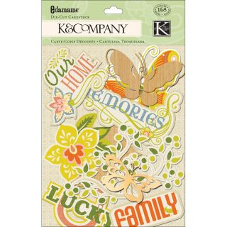 Company Edamame Words and Icons Cardstock Die Cuts