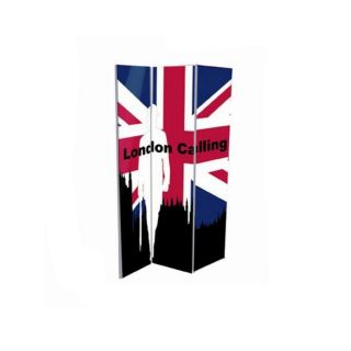 PARAVENT LONDON CALLING H180 cm, L 120 cm   Achat / Vente PARAVENT