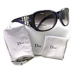 Christian Dior CD LIMITED Womens Austrian Crystal Sunglasses