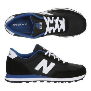 Modèle 501. Coloris  Noir, blanc et bleu. Les Baskets NEW BALANCE