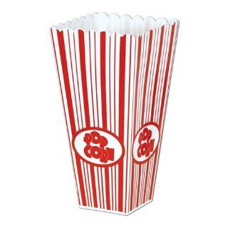 Beistle 57473 Plastic Popcorn Boxes   Pack of 6 Kitchen
