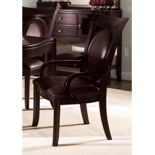 Somerton Signature Bi cast Brown Arm Chairs (Set of 2) See Price in