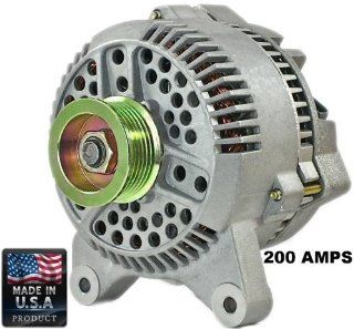 New 200 Amp High Output Alternator for Ford E series F series 1997