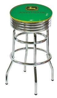 John Deere Green Swivel Bar Stool: Home & Kitchen
