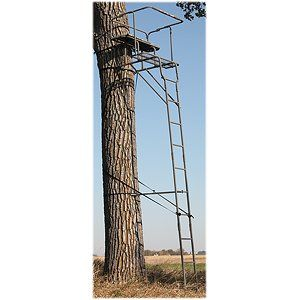 Sniper Spotter XT 2 Man Ladder Stand: Sports & Outdoors