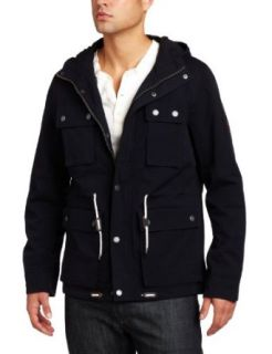 Ben Sherman Mens Fashion Harrington Coat Clothing