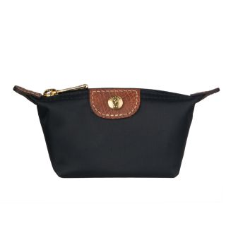 Longchamp Black Le Pliage Coin Purse