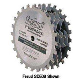 Freud SD506 Dado Blade Set, Dia 6 In, Arbor 5/8