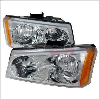 Chevrolet Avalanche (Non Cladding Models) Euro Headlights   Chrome