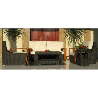 Barcelona 5 piece All weather Patio Furniture Set