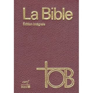 LA BIBLE   Achat / Vente livre Collectif pas cher