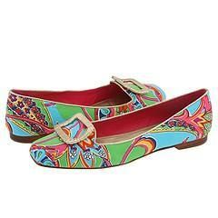 Lilly Pulitzer Wrap it up Ballet Flat Jewel Of The Pool