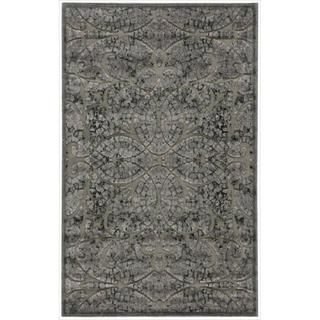 Graphic Illusions Moasic Grey Rug (36 x 56)
