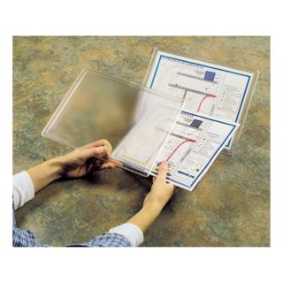 Accuform Signs STP1 Document Holder, Two Piece