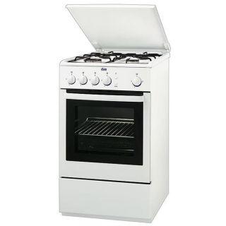 Cuisinière 4 feux gaz 50 cm Faure FCG565GW   Blanc   Une cuisinière