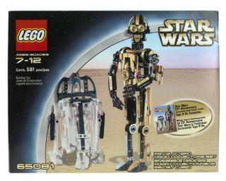 Lego Star Wars R2 D2 C3PO Droid Collectors Set 65081 Toys