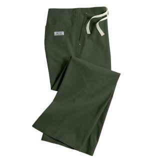 IguanaMed Womens Classic Tree Line Green Boot Cut Pants