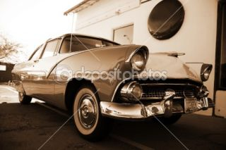 Retro car  Foto Stock © konstantin32 #1086878