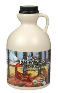 Coombs Family Farms Organic Grade B Maple Syrup 32 oz. (Pack of 6