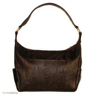 Concealed Carry Purse   Ropin West   Hand Tooled Leather