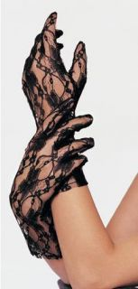 Sexy Wrist length Lace Gloves