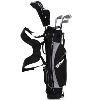 Wilson Jr Profile Black 6 piece Golf Set