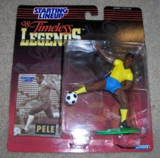1998 Pele Soccer Timeless Legends Starting Lineup Figure