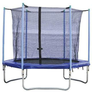 Sunny Enclosed Trampoline (8 Round)
