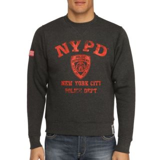 NYPD Sweat Homme Anthracite   Achat / Vente SWEATSHIRT NYPD Sweat