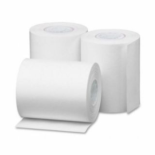 Royal 13129 2.25 in 57mm Bond Cash Register Paper Rolls (Pack of 3