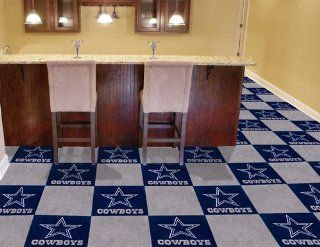 Dallas Cowboys NFL Carpet 18x18 Tiles