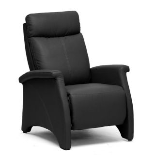 Sequim Black Reclining Club Chair
