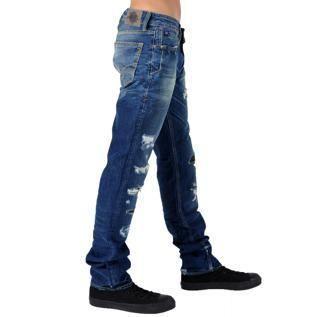 611 SESTO Bleu   Achat / Vente JEANS Jeans Japan Rags Basic 611