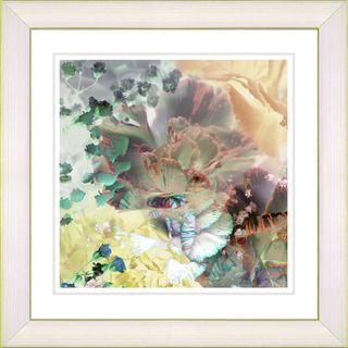 Studio Works Modern Champagne Carnation Framed Print