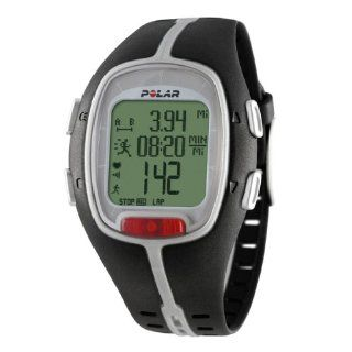 Polar RS200sd Heart Rate Monitor Watch (Black) Sports