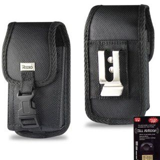 Pantech Swift Heavy Duty Rugged Canvas Case with Clip