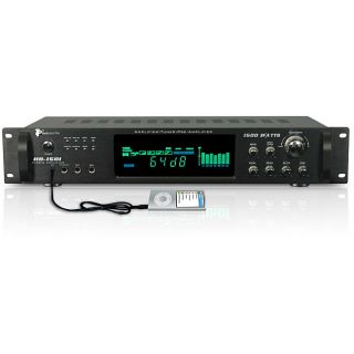 Technical Pro HB 1501 Digital Amplifier with AM/ FM Tuner
