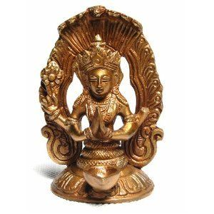 Patanjali (Great Saint of Yoga)   6 Brass Statue With