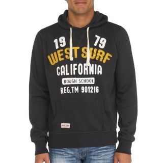 WEST SURF CALIFORNIA Sweat H Noir   Achat / Vente SWEATSHIRT WEST SURF