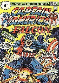 Captain America (1968 series) #197 BRITISH Marvel Books
