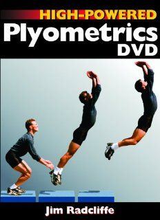 High Powered Plyometrics DVD Jim Radcliffe Movies & TV