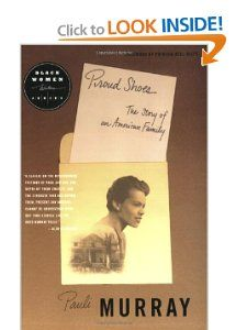 Proud Shoes (Black Women Writers Series) Pauli Murray 9780807072097