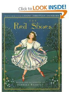 The Red Shoes Hans Christian Andersen, Barbara Bazilian