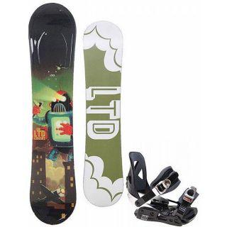 LTD Circuit Boys 123 cm Snowboard with LTD LT1 Bindings