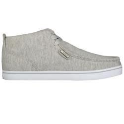Lugz Mens Strider Jersey Heather Grey/ White Sneakers