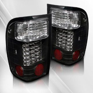 Ford Ranger 93 94 95 96 97 LED Tail Lights ~ pair set (Black)