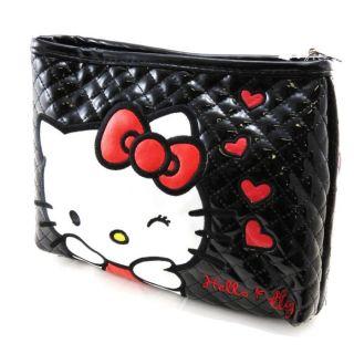 Trousse de toilette Hello Kitty noir vernis   Achat / Vente VANITY