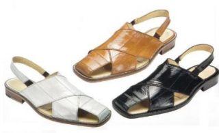 Belvedere Mens Monza Shoes,Smoke Eel,9 M US Shoes